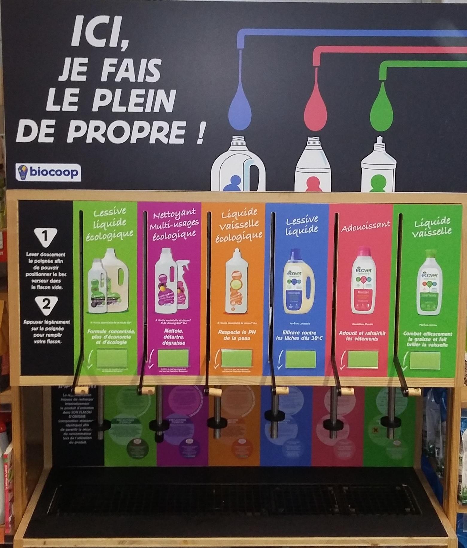 Le vrac une priorit biocoop du rouennais magasin bio for Meubles en vrac liquidation