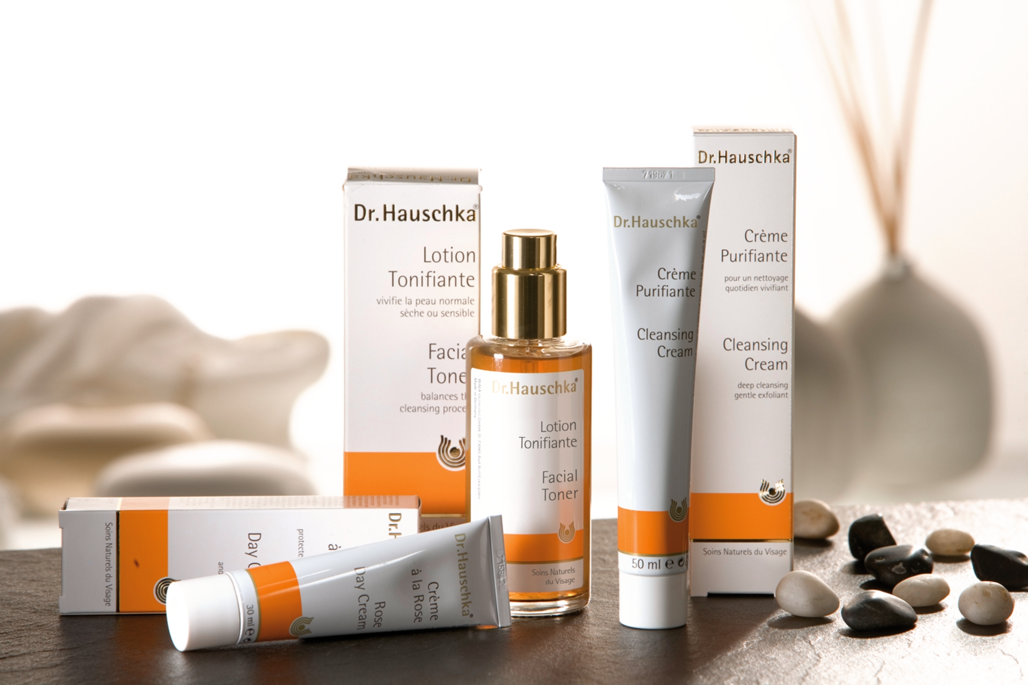la gamme Docteur Hauschka